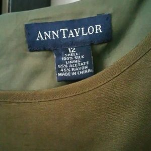 Ann Taylor Tops - Ann Taylor olive green top